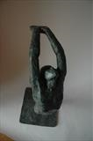 Amness by Janis Ridley, Sculpture, Bronze