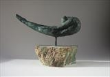 Birdwoman by Janis Ridley, Sculpture, Bronze