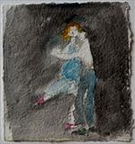 Dance for a moment by Janis Ridley, Drawing