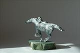 Equis by Janis Ridley, Sculpture, Bronze
