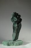 Family wing by Janis Ridley, Sculpture, Bronze