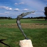 Heart song by Janis Ridley, Sculpture, Bronze