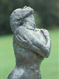 Stargazer by Janis Ridley, Sculpture, Bronze