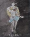 dancing bliss by Janis Ridley, Drawing