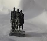 family group by Janis Ridley, Sculpture